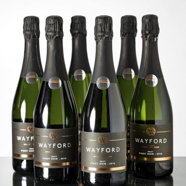 Wayford Brut Pinot Noir 2017 Vintage (6 x bottles)